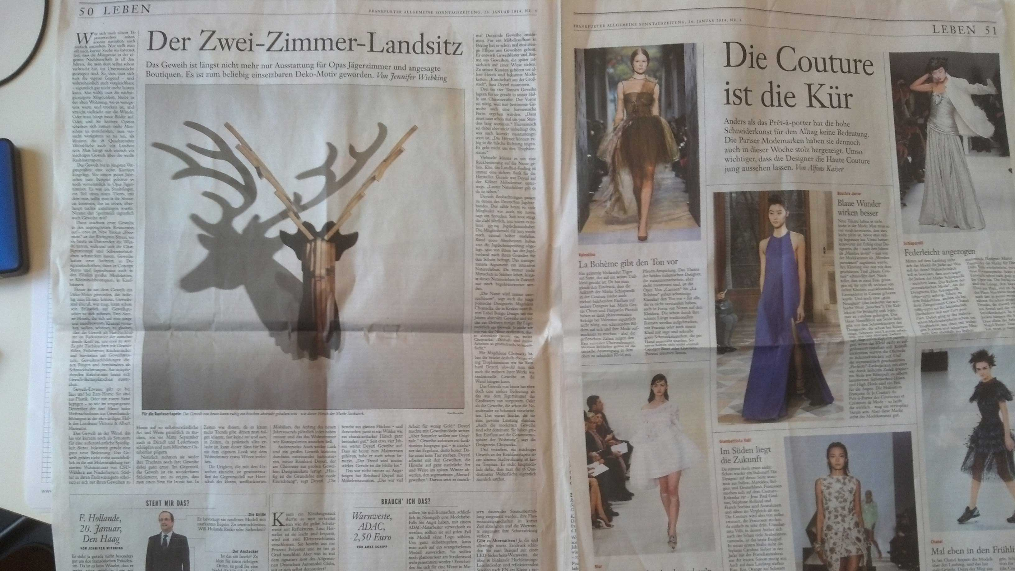 Artikel über Hirsch in FAZ