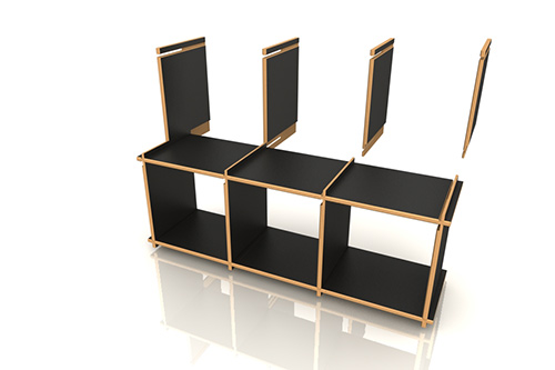 regal zum stecken bestseller shop f r m bel und einrichtungen. Black Bedroom Furniture Sets. Home Design Ideas