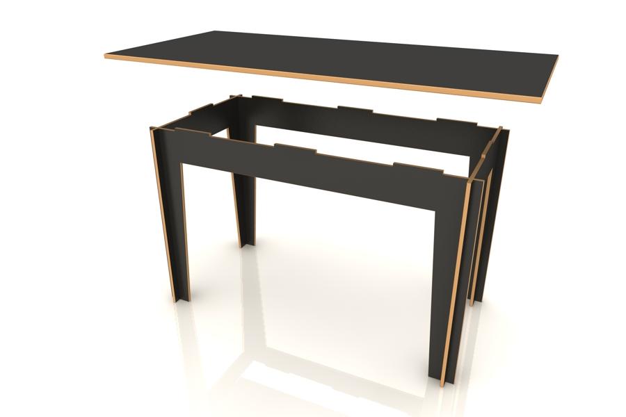 05. Auflegen Tischplatte