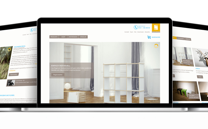 Redesign der Steckwerk Website